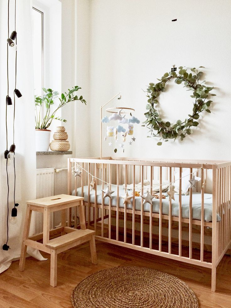 Wood Mobile Arm For Baby Crib