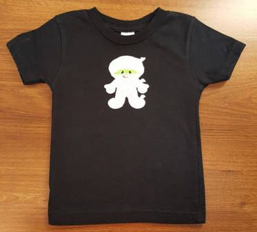 The Mummy Halloween T Shirt for Kids, T Shirts, Applique T Shirts, Halloween Shirts, Fall, Costume, Party Shirts, Kids Shirts, Children Baby by LucysButtonBoutique on Etsy