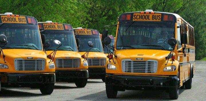 Pin By Max Boesing On Favorite Thomas Built C2 School Busses School Bus Bus Football Cheerleaders