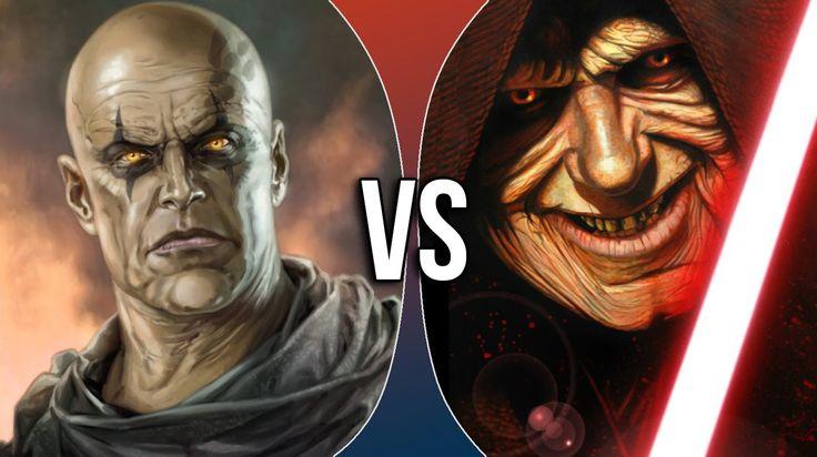 Versus Series | Darth Bane vs Darth Sidious I think Darth Bane would win.