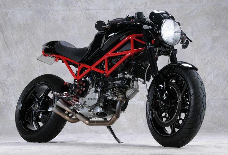 Ducati Monster. I love this bike