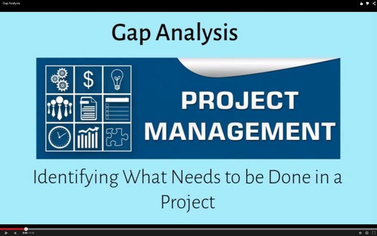 Gap Analysis Identifying What Needs to be Done in a Project