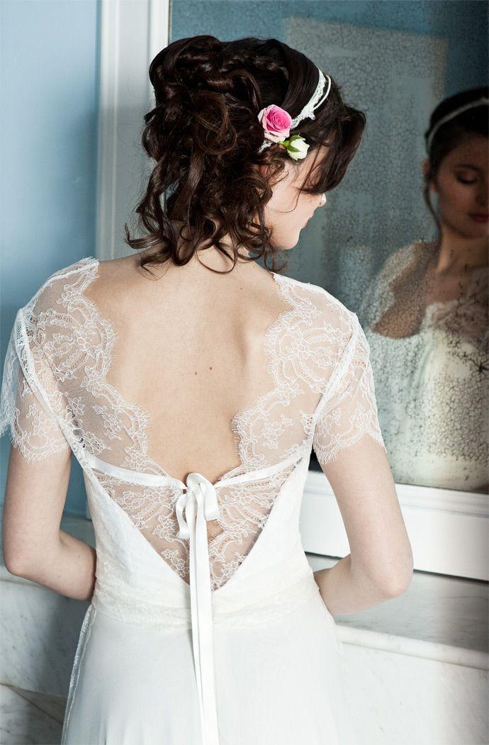 Elsa Gary - Robes de mariée | Modèle: Elisa | Crédits: Elsa Gary | Donne-moi ta main - Blog mariage