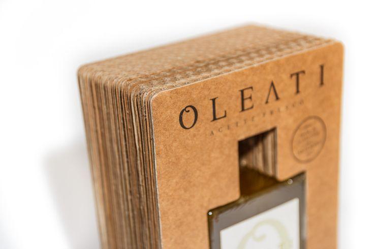 Oleati - diseño de identidad corporativa, packaging y web para marca de aceite de oliva de aceitunas hojiblanca.