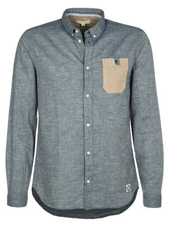 DIY Inspiration: button-down shirt with contrasting pocket