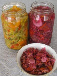 dieta Warzywno Owocowa: Kiszone warzywa