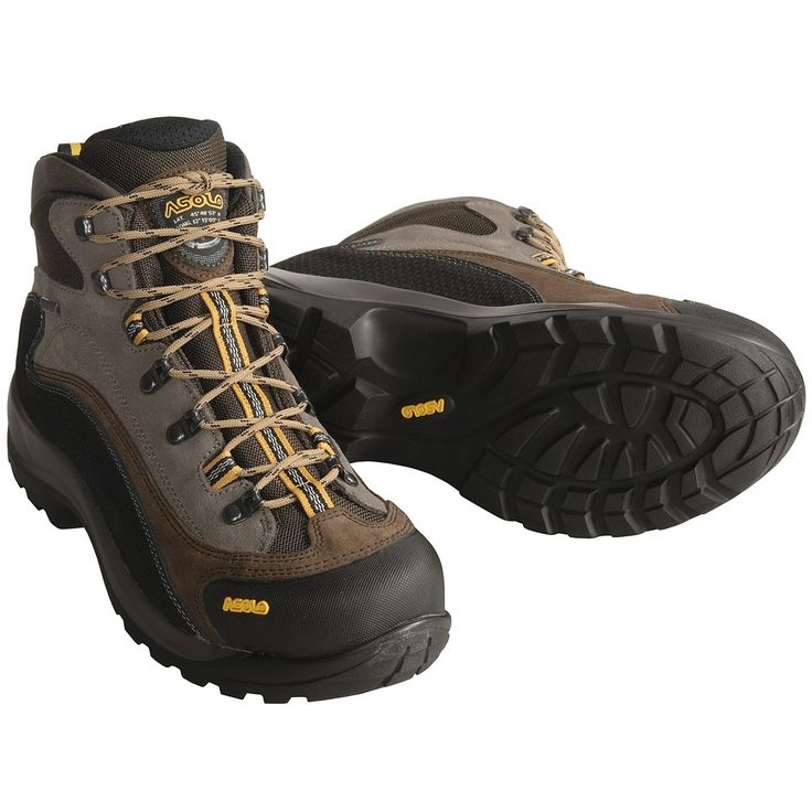 Asolo FSN 95 Gore-Tex® Hiking Boots - Waterproof (For Men) in Cendre/Dark Brown