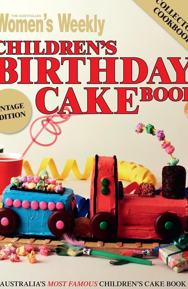 Cover of book 'The Australian Women's Weekly Children's Birthday Cake Book'.