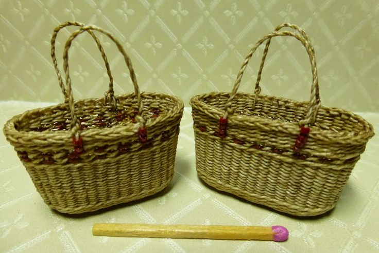 Basketcase Miniatures: Some new baskets and other stuff!!
