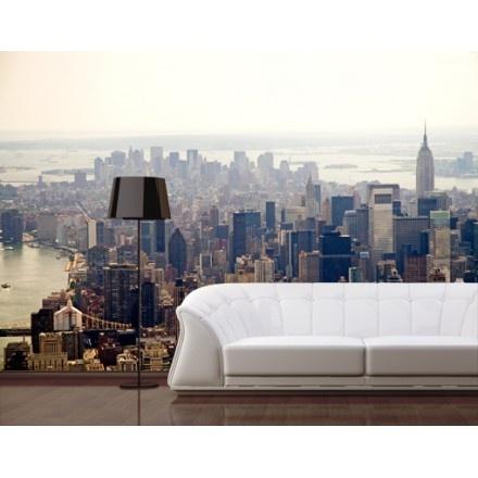 Fotobehang ochtend in New York