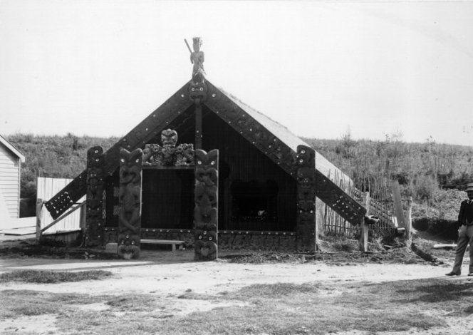 Te Rauru meeting house, Whakarewarewa