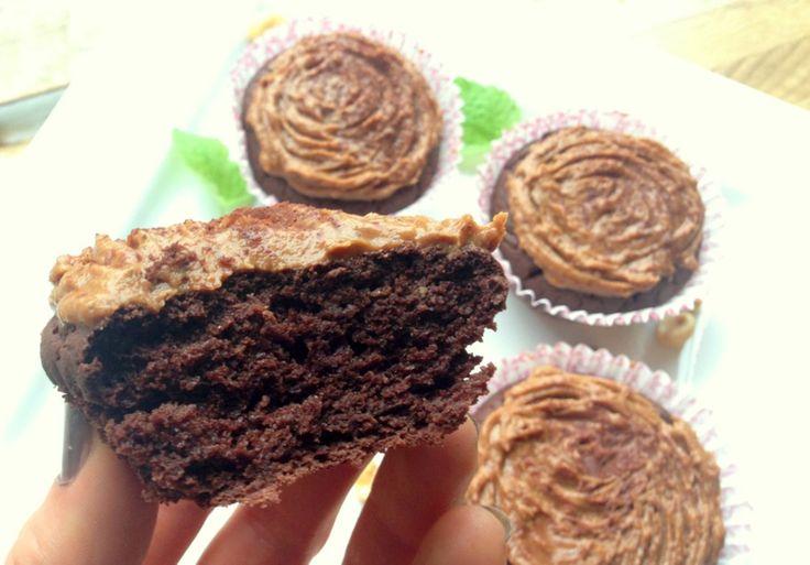Vi blir aldri lei sjokolade, blir vi vell? Ei oppskrift på saftige, luftige sjokolademuffins som er uten sukker, gluten og melk. Dei er veldig kalorilette og passer like godt som dessert, snacks, mellommåltid, før/etter trening, som turmat eller berre når man har lyst på noke søtt&godt! Eg er sikker på dei vil falle i smak …