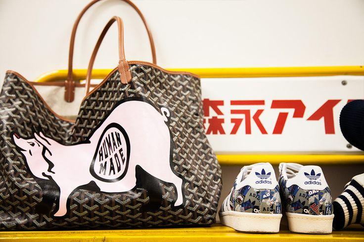 NIGO's Goyard customized bag