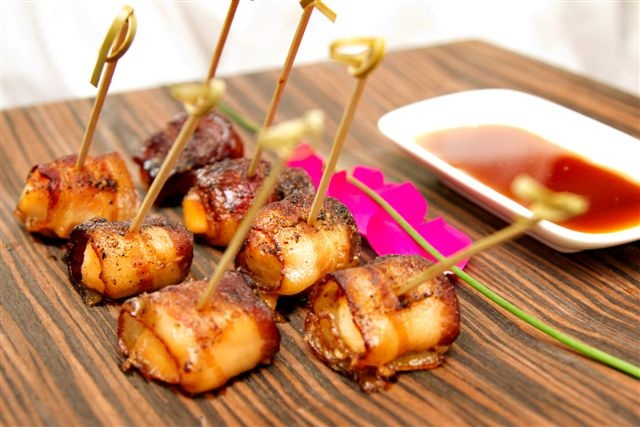 Maple Glazed Scallops and Bacon | Dad's 60th bday party | Pinterest