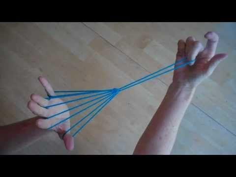 Witches Broom (or parachute), Step by Step, with string. Hoera eindelijk weet ik hoe het moet!