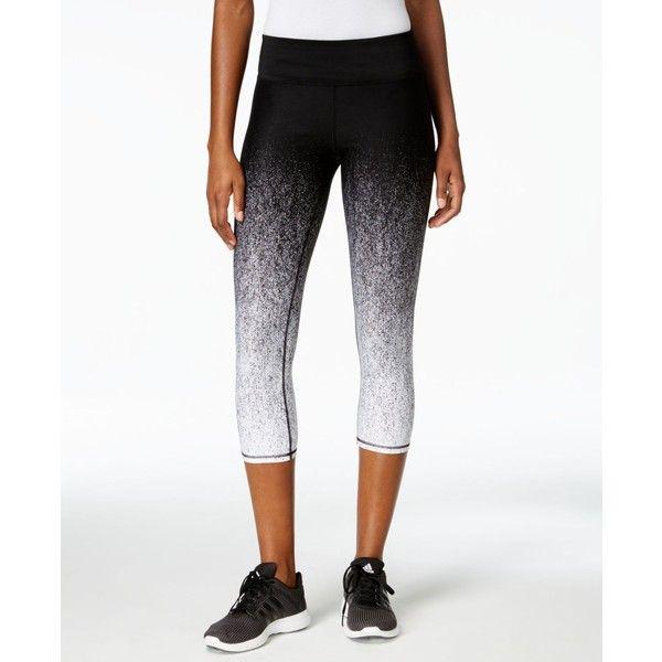 25dd9e991d8e83 Best 25 White capri leggings ideas only on Pinterest   White ... Betsey  Johnson Gradient Capri Leggings ($40) ❤ liked on Polyvore featuring pants  ...
