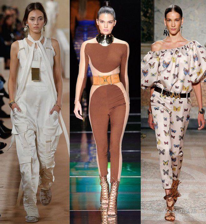 Мода и стиль: Модные комбинезоны весна-лето 2016