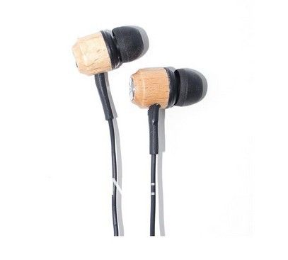 3.5mm Jack Stereo Wooden Earphones In-ear Headphone (KANEN) for Apple iPhone iPod iPad CHS-80293 $6.39