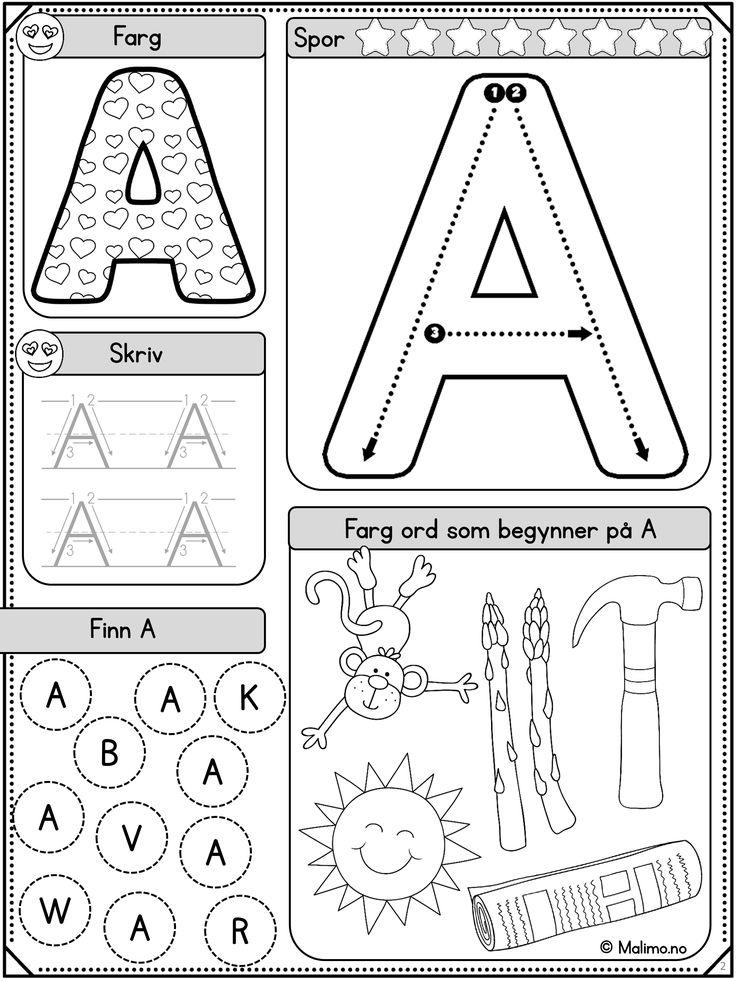 Formålet med BOKSTAVSERIEN er selvfølgelig å lære bokstavene. Ut over det er ønsket at serien skal legge til rette for variert øving med mange ulike oppgavetyper. Variasjonen i oppgaver og i vanskegrad gjør arbeidet lystbetont!