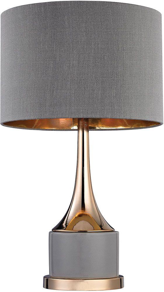 Elk Home D2748 Modern Grey Gold Lighting Table Lamp Ekh D2748 Table Lamp Lighting Lamp Table Lamp