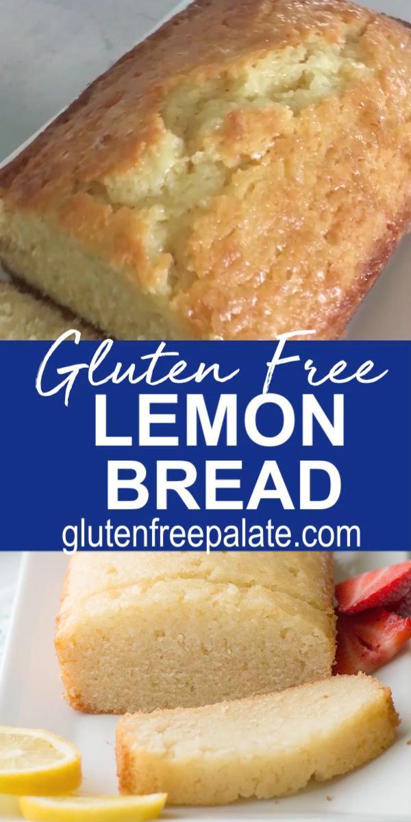 Gluten Free Lemon Bread Video In 2020 Gluten Free Recipes Easy Dairy Free Recipes Easy Gluten Free Dairy Free Recipes
