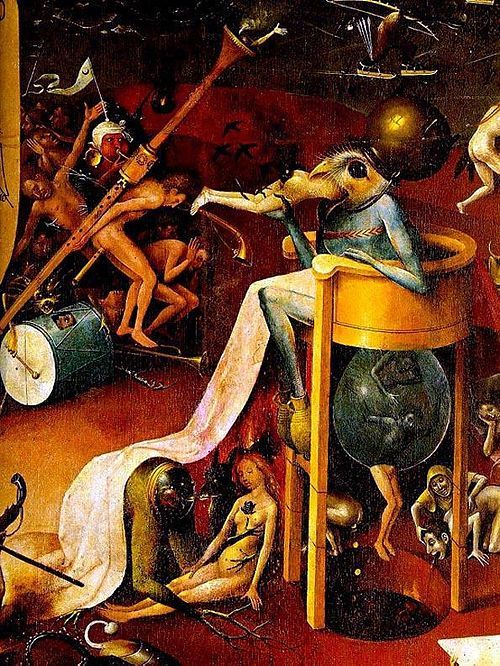 Prince of Hell, by Hieronymus Bosch