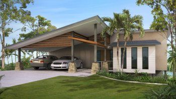 2 Storey 4 Bed House Plan