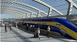California high speed rail back!