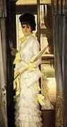 "New artwork for sale! - "" Portrait Of Miss Lloyd by James Jacques Joseph Tissot "" - http://ift.tt/2pfiNLv"