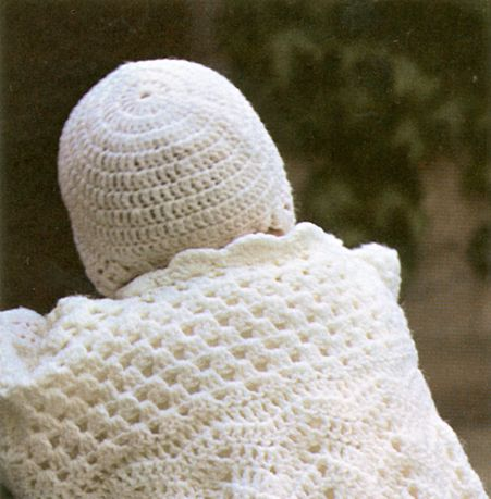 crochet christening dress and bonnet free pattern  #diy #craft #crochet