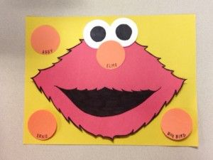 Pin the Nose on Elmo - Birthday Party Activity  These easy steps will help you create a homemade pin the nose on Elmo activity. Have fun!