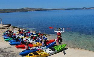 Croatia family adriatic adventure sea kayaking, sea kayaking in croatia,