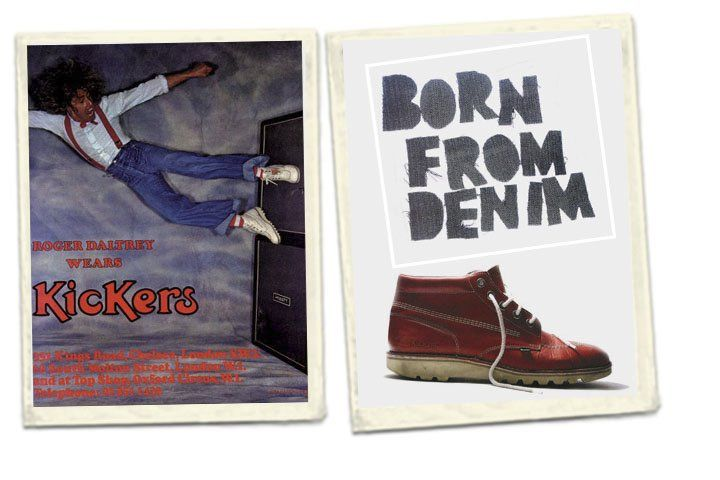 1975: The Kick Hi is launched as the first UK store opens on the King's Road in London. Famous fans, including Roger Daltrey, Elton John and David Bowie, help Kickers secure its place in rock 'n' roll history. now i want a pair.