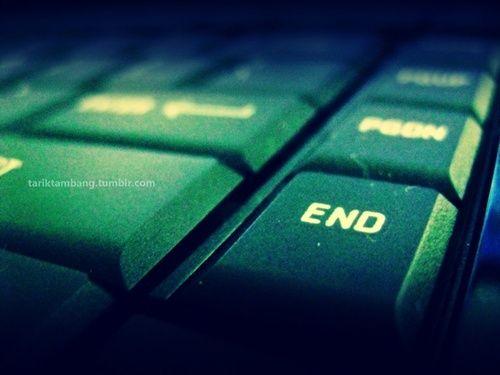 Tutte le belle cose hanno una fine.