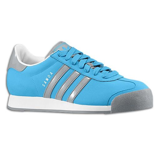 blue and pink adidas samoa