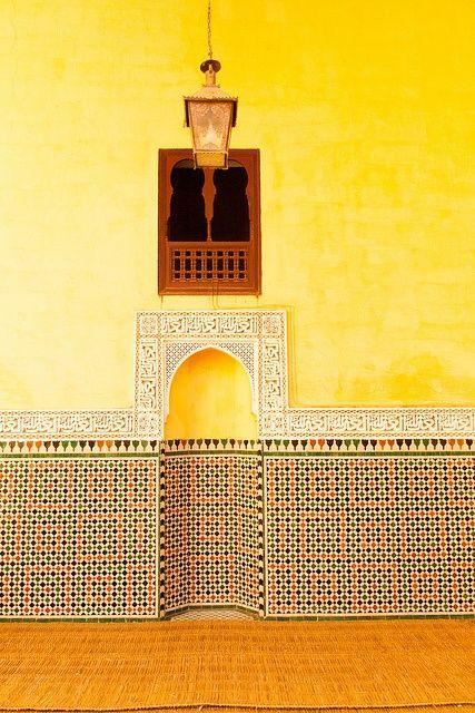 Moroccan Zellige.