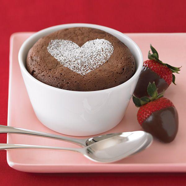 Ghirardelli Baking: Individual Chocolate Souffles Recipe Impressive ...