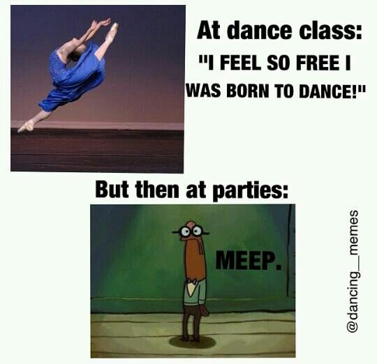"And everybody's like: but aren't you a dancer? And I have to try to explain the difference between ""dancing"" and DANCING"