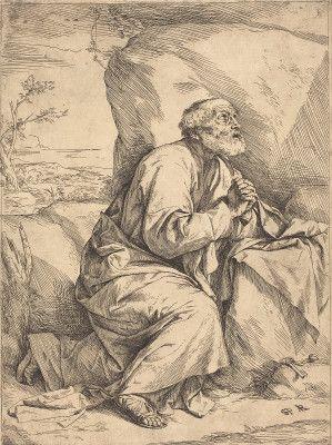 The Penitence of Saint Peter by Jusepe de Ribera (1621) - National Gallery of Art, DC