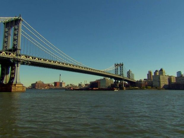 Pontes centenárias fazem parte do cenário da cidade de Nova York