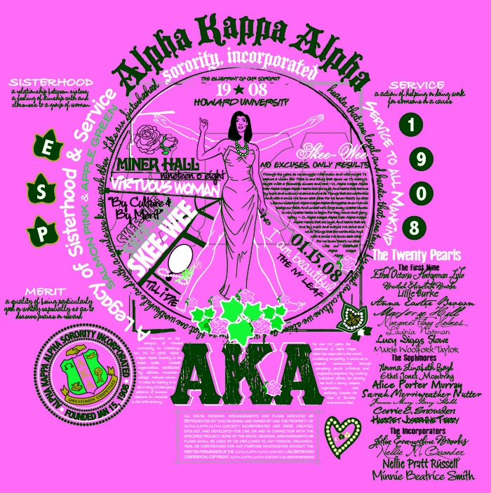 141 best i love my alpha kappa alpha sorority inc images on aka blueprint series t shirt design malvernweather Gallery