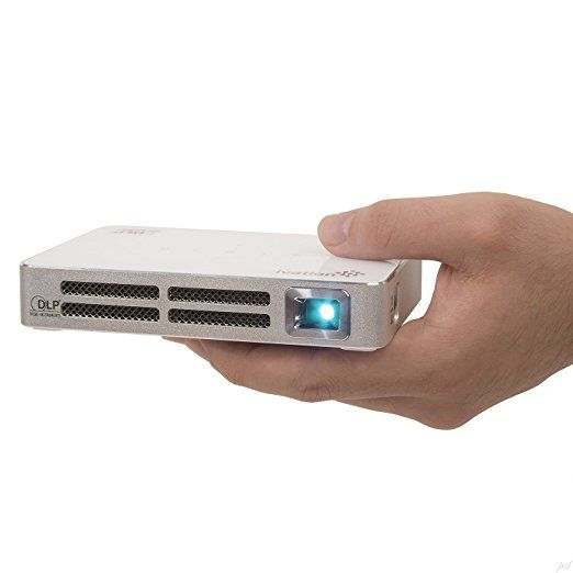 Mini Portable Projector  Best Pocket Projector  Handheld Projector  Cell Phone Projector  Mini Projector For Iphone  Short Throw Projector  Ivation Portable Handheld All-Connect Projector   Tripod, Cable, Remote & Case