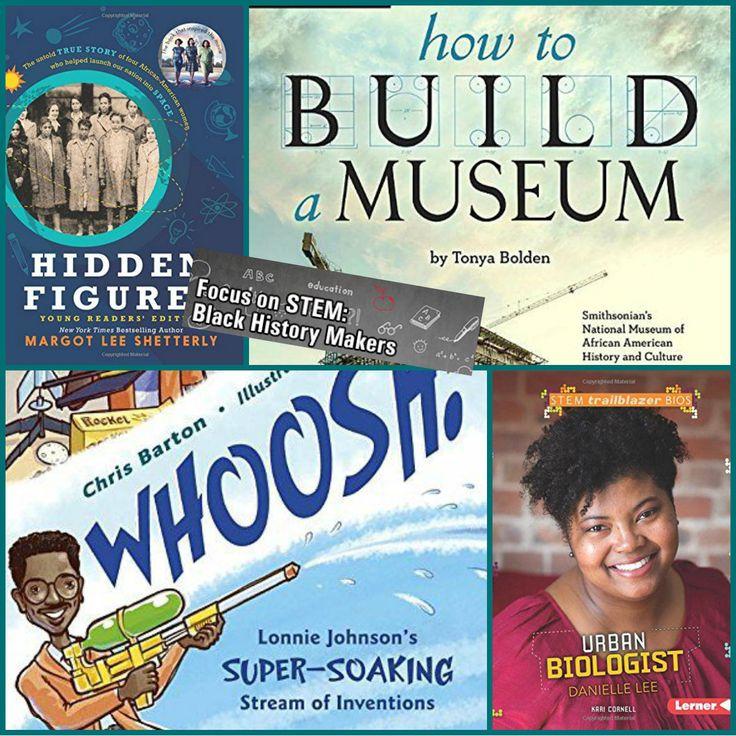 Focus on STEM: Black History Makers, by Anastasia Suen