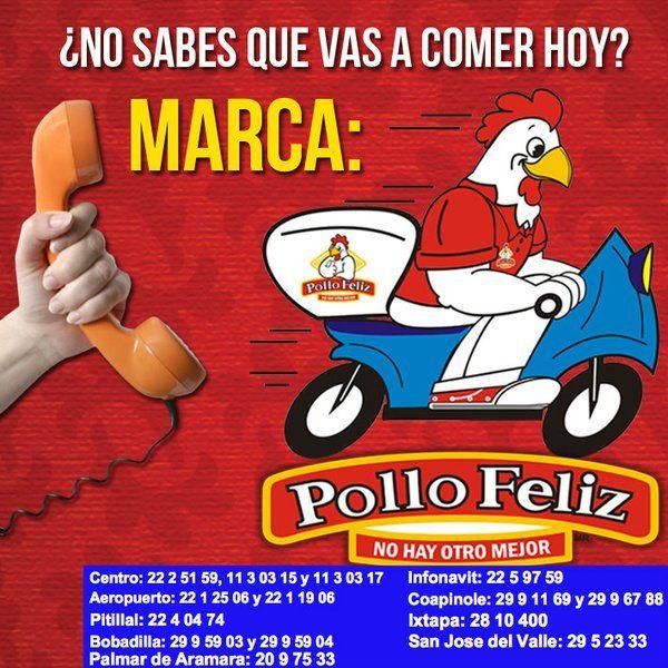 HOOOY! #MARTES de POLLO FELIZ! 2 Pollos x $145 ó 1/2 GRATIS! En la compra de 1 #PolloFeliz #PuertoVallarta #Vallarta