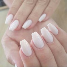 medium length coffin shaped nails - Google Search
