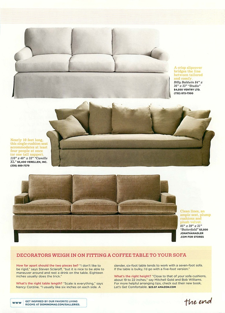 More Cozy Sofas