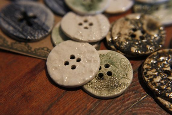 Hey, I found this really awesome Etsy listing at https://www.etsy.com/listing/193928219/beautiful-handmade-porcelain-buttons-x4