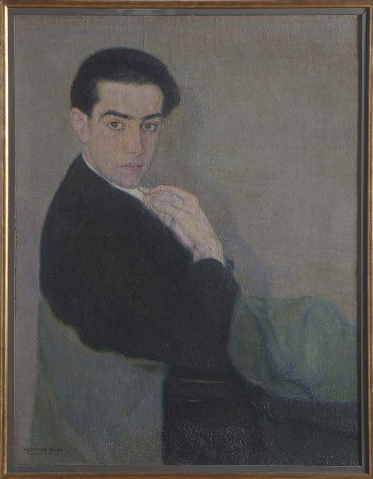 Retrato de Ángel Guido #MuseoMarc