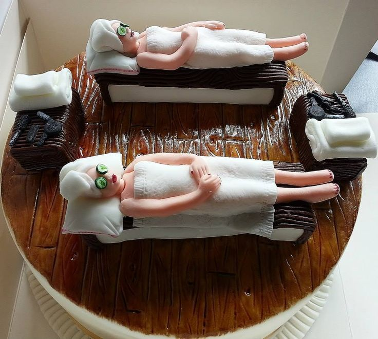 Beautician's cake