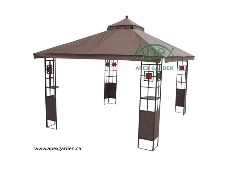 HOMESTYLES YH-1212 10'x12' Gazebo Replacement Canopy Top